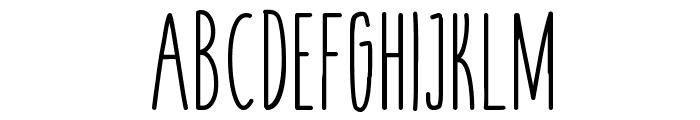 cookies&milk-regular Font UPPERCASE