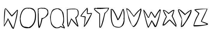 cordontvfont Font UPPERCASE