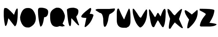 cordontvfont Font LOWERCASE