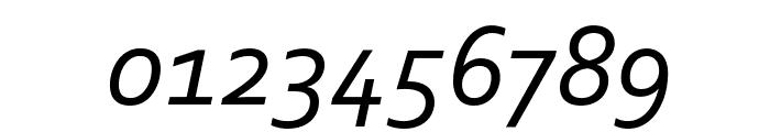 corbel italic font