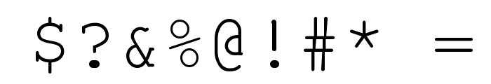 Courier New Font OTHER CHARS