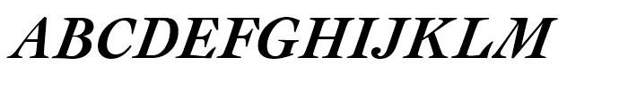 Cochin Bold Italic Font UPPERCASE