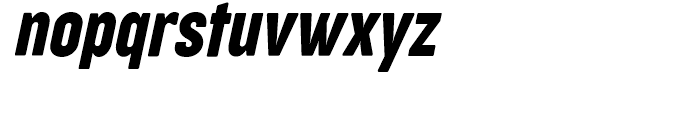 Cocogoose Narrows Compressed Italic Font LOWERCASE