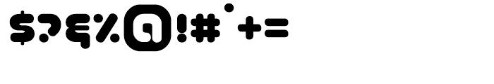 Coconut Regular Font OTHER CHARS