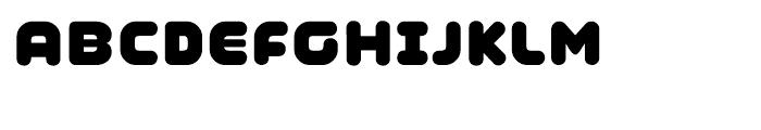 Coconut Regular Font UPPERCASE