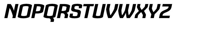 Cohort Black Italic Font UPPERCASE