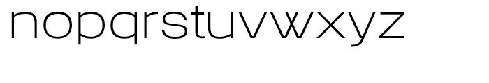 Colin Samuels Thin Font LOWERCASE