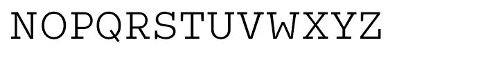 Coln Light Font UPPERCASE