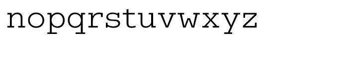 Coln Light Font LOWERCASE
