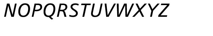 Colophon 33 Medium Italic Font UPPERCASE