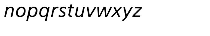Colophon 33 Medium Italic Font LOWERCASE