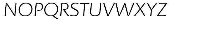 Colosseum Light Italic Font UPPERCASE