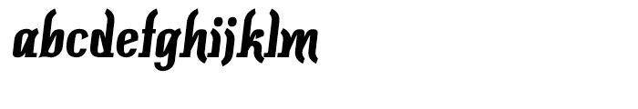 Colourbars Bold Font LOWERCASE