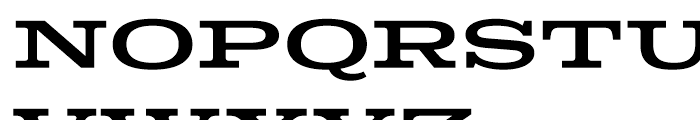 Colt Regular Font UPPERCASE