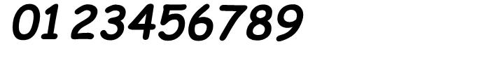 Comic Sans Bold Italic Font OTHER CHARS