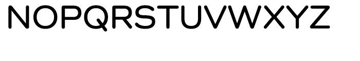 Como SemiBold Font UPPERCASE