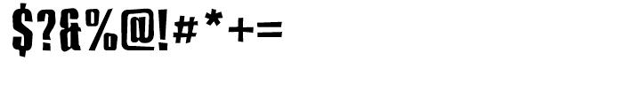 Compakt Broken Font OTHER CHARS