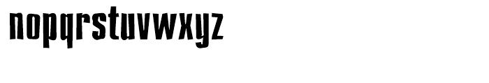 Compakt Broken Font LOWERCASE