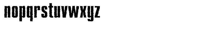 Compakt Rough Bold Font LOWERCASE