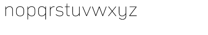 Compasse Thin Font LOWERCASE