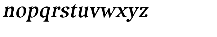 Compatil Exquisit Bold Italic Font LOWERCASE