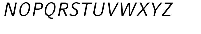 Compatil Fact Italic Font UPPERCASE