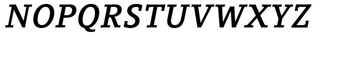 Compatil Letter Bold Italic Font UPPERCASE