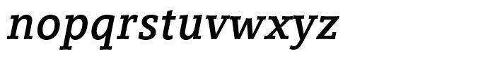 Compatil Letter Bold Italic Font LOWERCASE