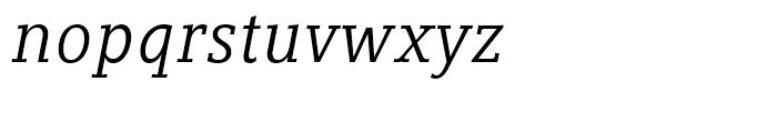 Compatil Letter Italic Font LOWERCASE