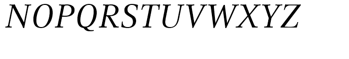Compatil Text Italic Font UPPERCASE