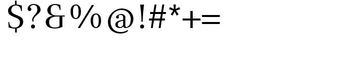 Compatil Text Regular Font OTHER CHARS