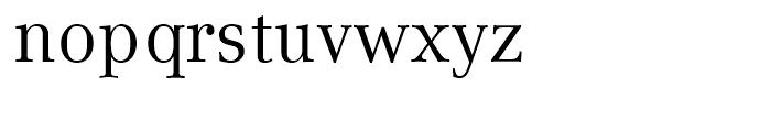 Compatil Text Regular Font LOWERCASE