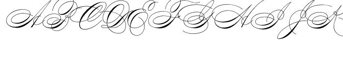 Compendium Regular Font UPPERCASE