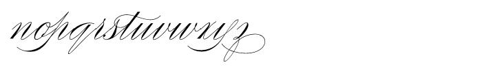 Compendium Regular Font LOWERCASE