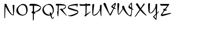 Compliment Regular Font UPPERCASE