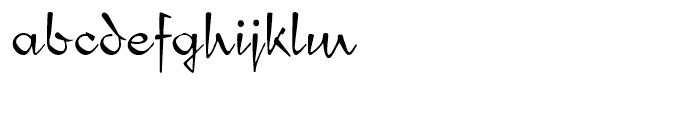 Compliment Regular Font LOWERCASE