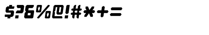 Computechnodigitronic Italic Font OTHER CHARS