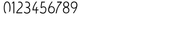 Concept Sans Condensed Light Font OTHER CHARS