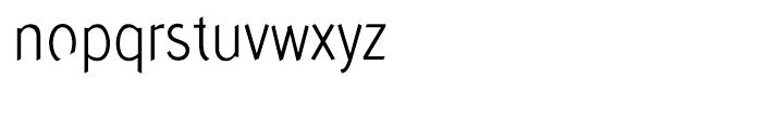 Concept Sans Condensed Light Font LOWERCASE