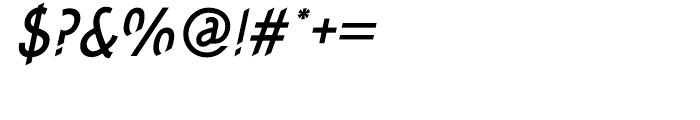 Concept Sans Condensed Medium Italic Font OTHER CHARS