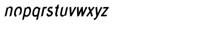 Concept Sans Condensed Medium Italic Font LOWERCASE