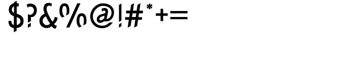 Concept Sans Condensed Medium Font OTHER CHARS
