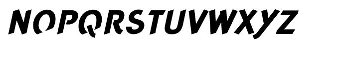 Concept Sans Extra Bold Italic Font UPPERCASE