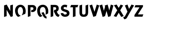 Concept Sans Extra Bold Font UPPERCASE