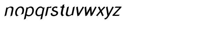 Concept Sans Italic Font LOWERCASE