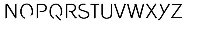 Concept Sans Light Font UPPERCASE
