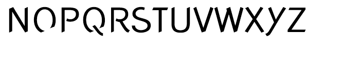 Concept Sans Regular Font UPPERCASE