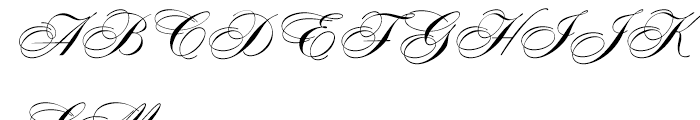 Concerto Regular Font UPPERCASE