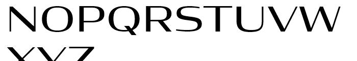 Condor Wide Regular Font UPPERCASE