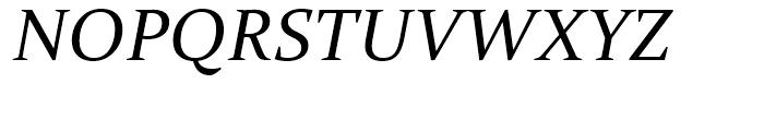 Constantia Italic Font UPPERCASE